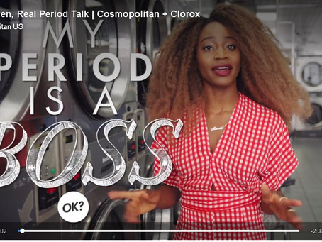Sydnee Washington and Marie Faustin Are Sick of Seeing Red in New Clorox Commercial