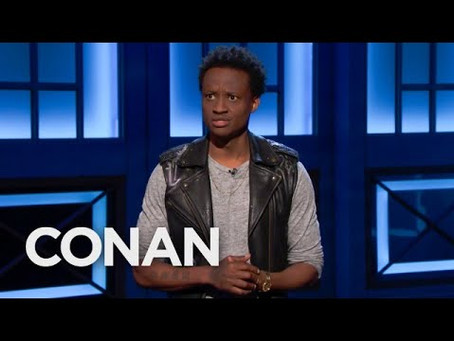 Nore Davis Makes Late Night Television Debut on Conan