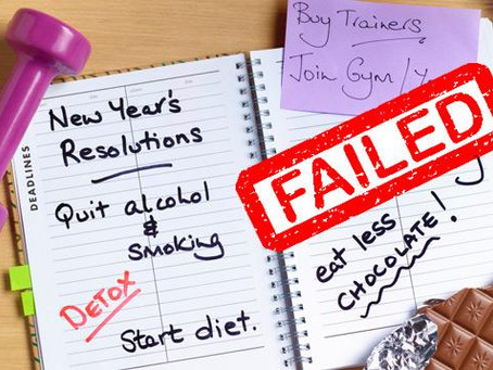 4 Easy Steps to Miserably Fail Your New Year Resolutions