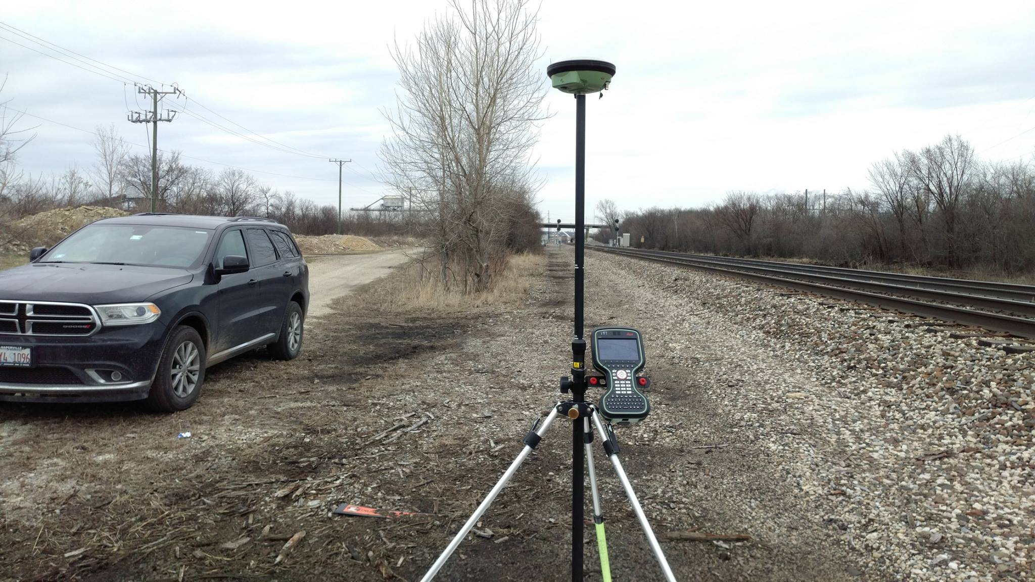 GPS- Aerial Railroad Survey
