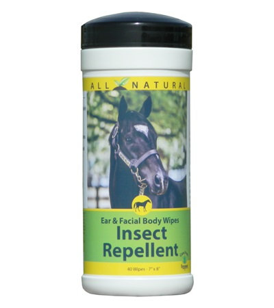 Insect Repellent Ear & Facial Body Wipes