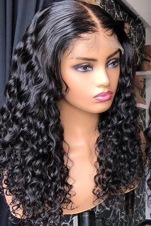 Burmese Curl Lace Wig