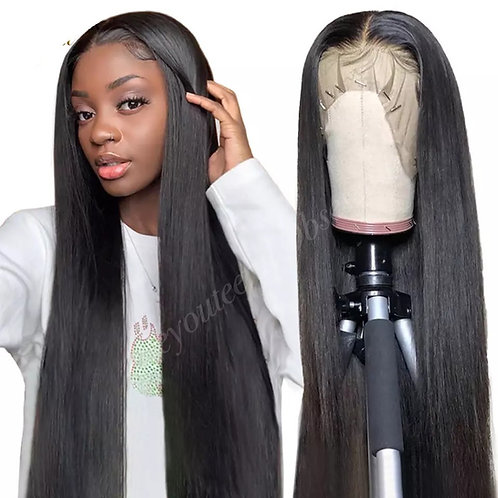 Bella Straight Swiss Lace Wigs
