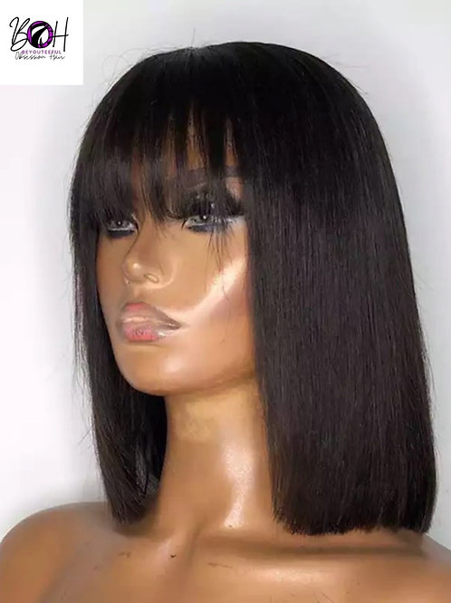 Bella Straight Wig w/bangs