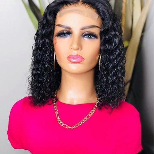 "12"" Water Wave Lace front Wig"