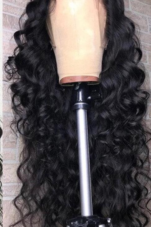 Malaysian Loose Deep Full Transparent Lace Wig