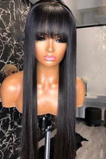 """""""NIA"""" Straight Wig w/bangs"""