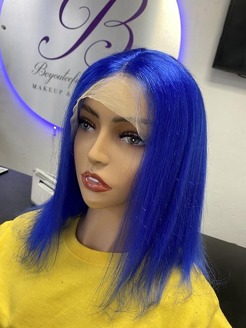Color Transparent Lace Wigs (custom colored)