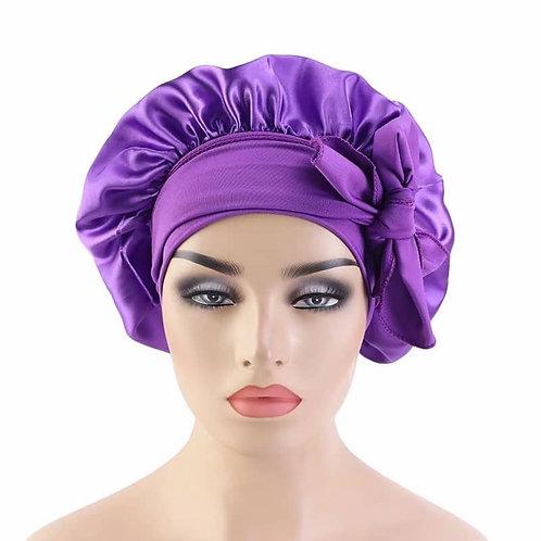 Satin Hair Bonnet (𝑅𝑒𝑠𝑡𝑜𝑐𝑘𝑠 𝑀𝑖𝑑-𝐴𝑝𝑟𝑖𝑙)