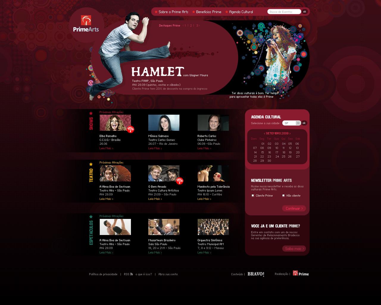 Prime Arts Portal