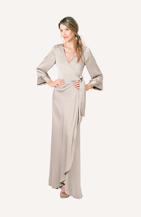 moonstone wrap dress/robe