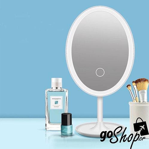 Espejo LED ovalado