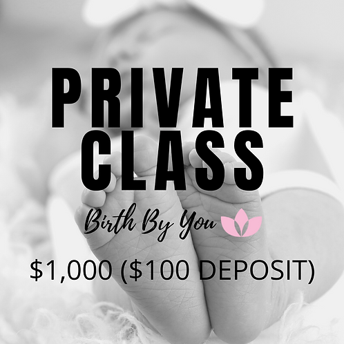 HypnoBirthing® - Private Class Series
