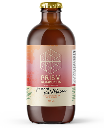 Prairie Wildflower Prism Kombucha Bottle