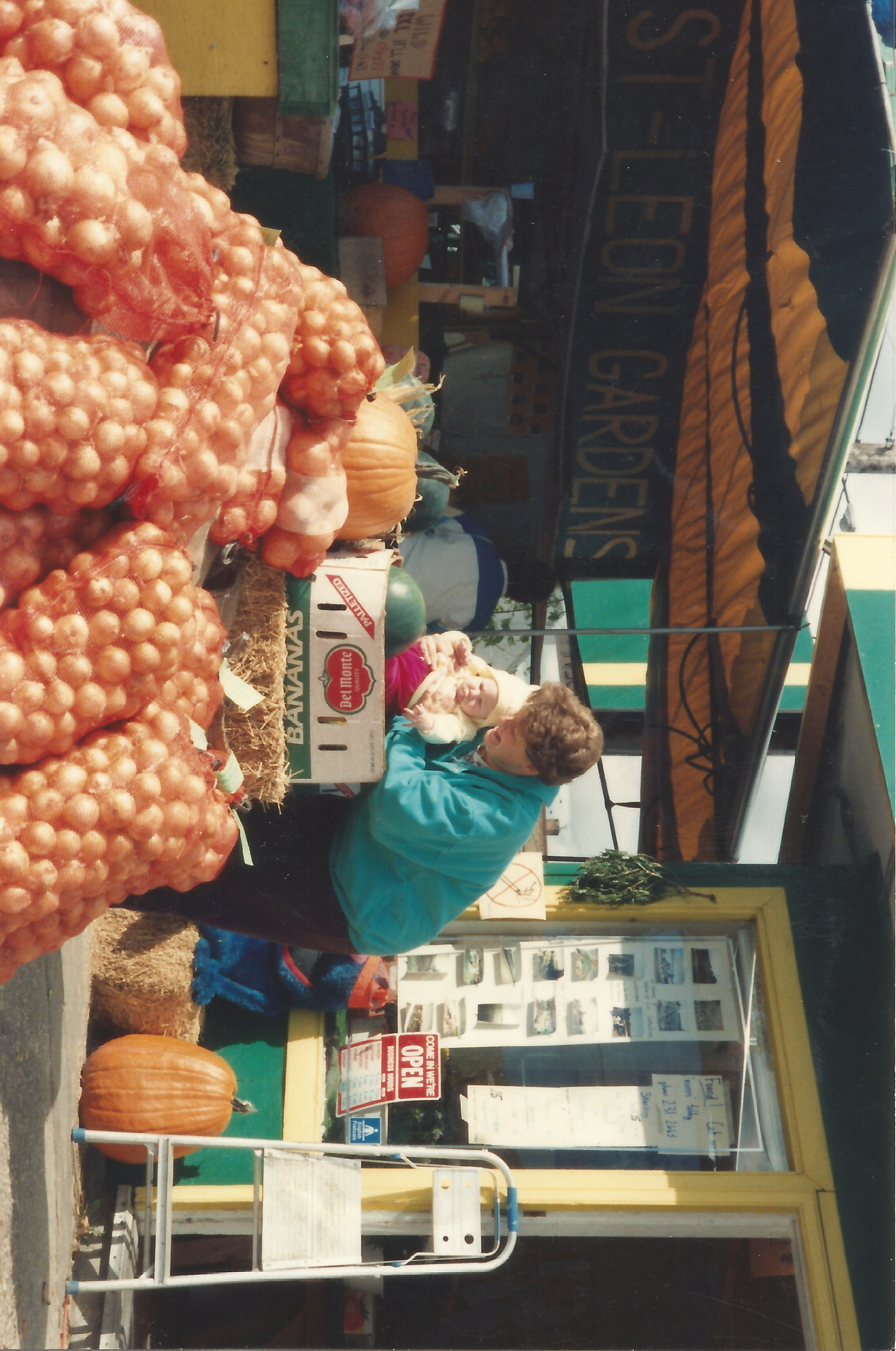 girl in pile of onion winnipeg