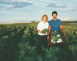 cute farmer couple winnipeg manitoba