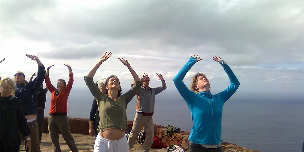 Meridiaan Chi Kung en 5 elementen yoga - 3 daagse zomerworkshop