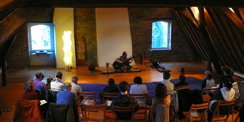 Sitar concert met Wilhelm Van Langendonck - wordt verplaatst