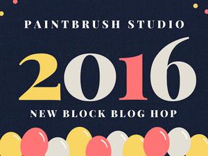 Paintbrush Studio new blog block hop