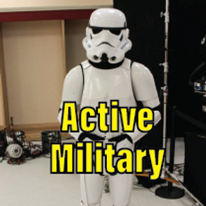 Ticket - Day Pass Active Military (with ID)