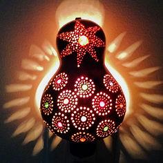 Gourd Night Light