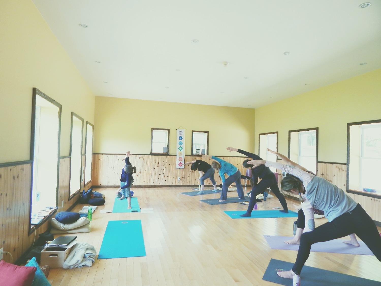 Pose Viatalité - Yoga