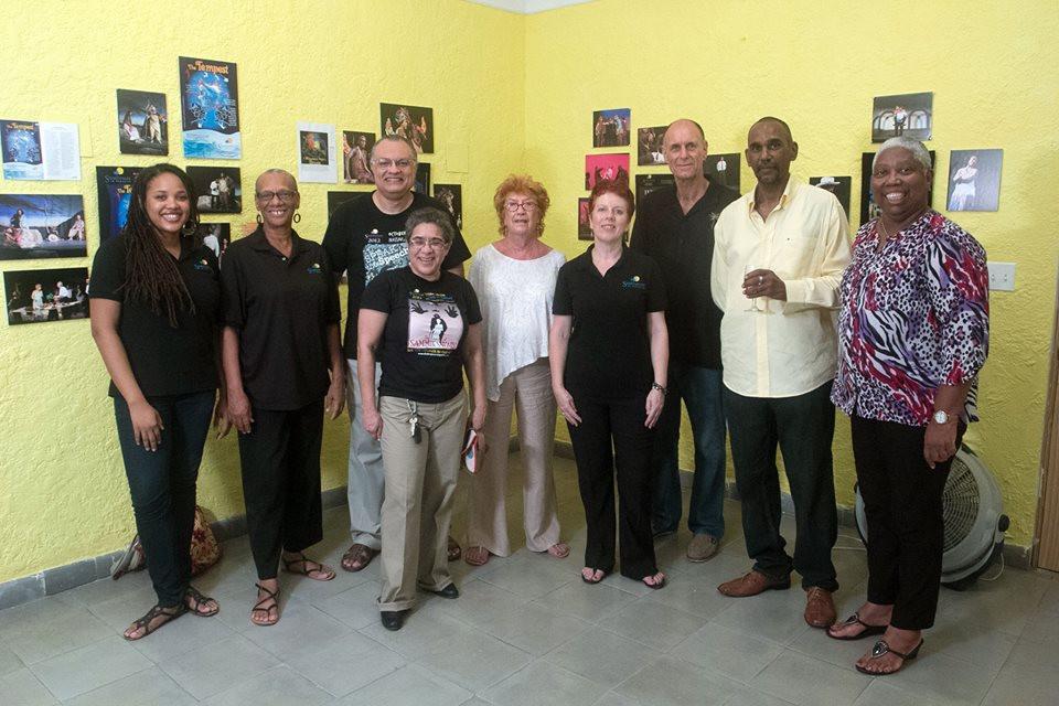 SIP13 Poster art exhibition at Popopstudios, Nassau, Bahamas
