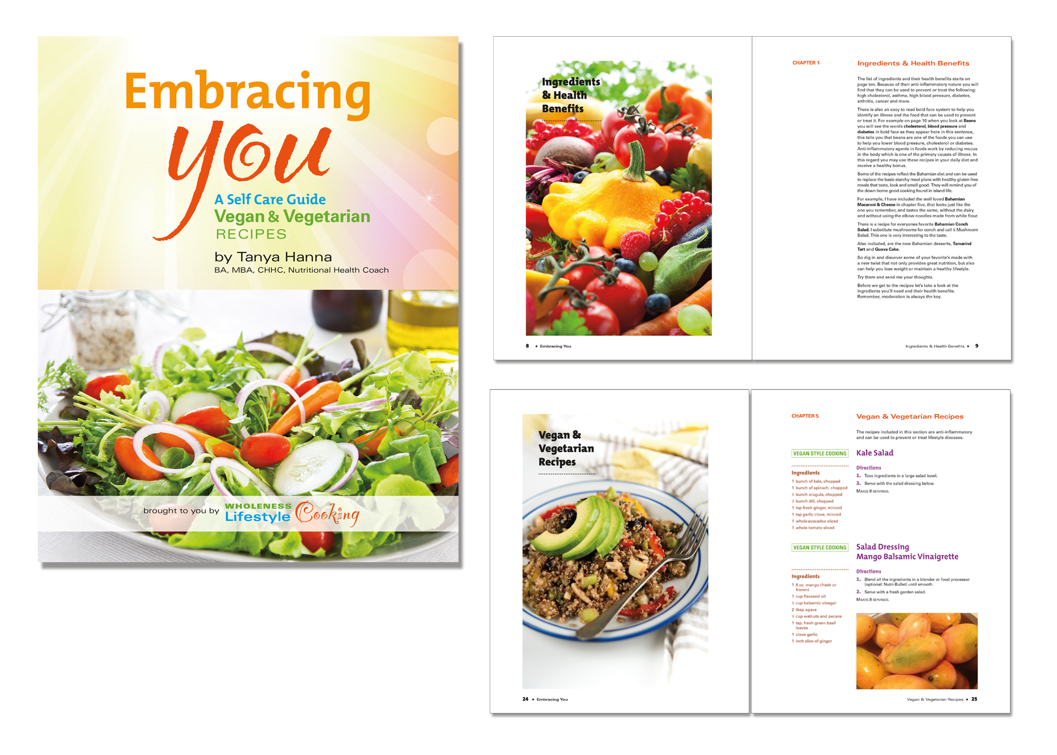 Embracing You cookbook