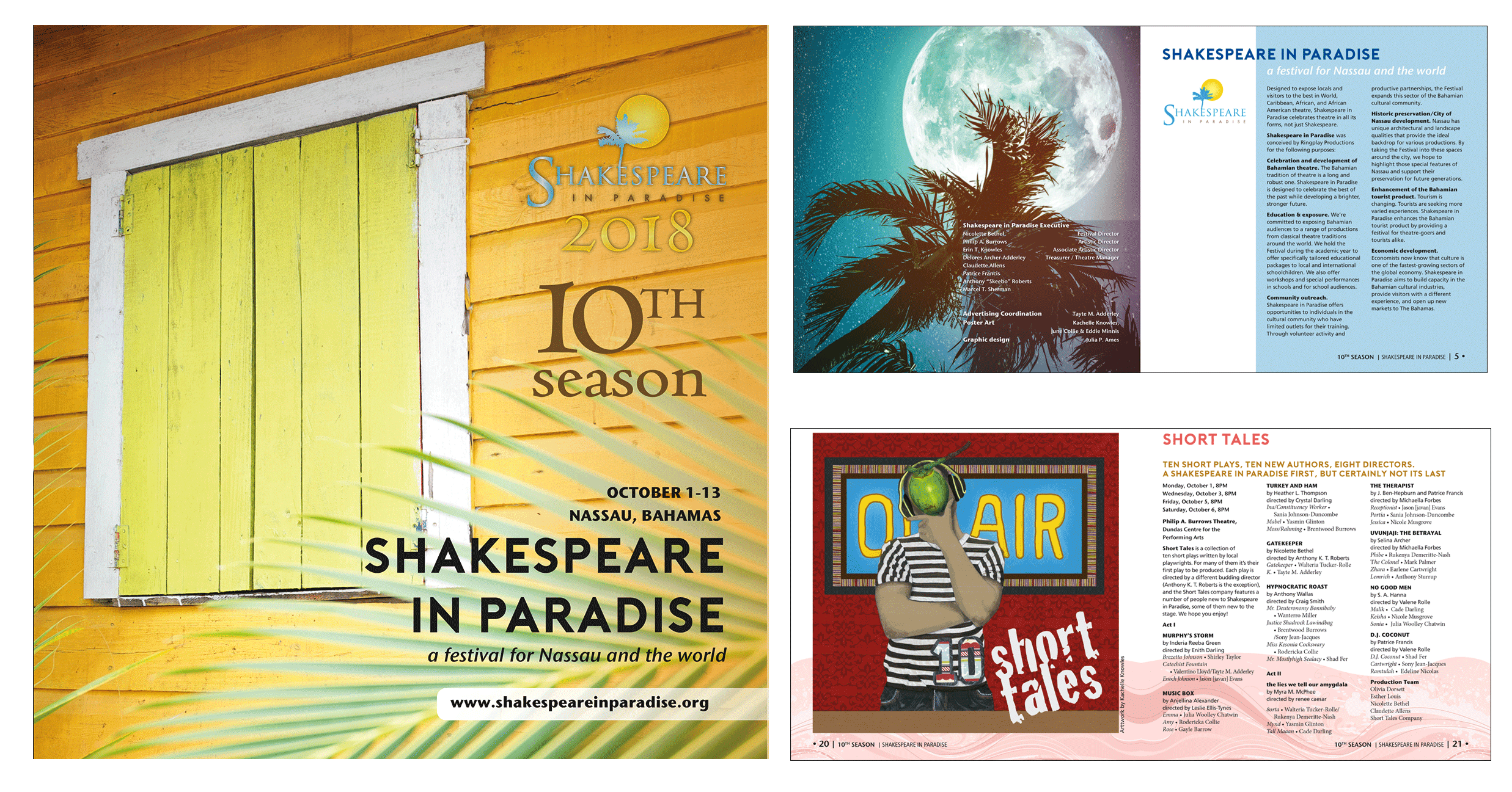 Shakespeare in Paradise program book