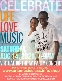 Concert promotion for CELEBRATE LIFE LOVE MUSIC
