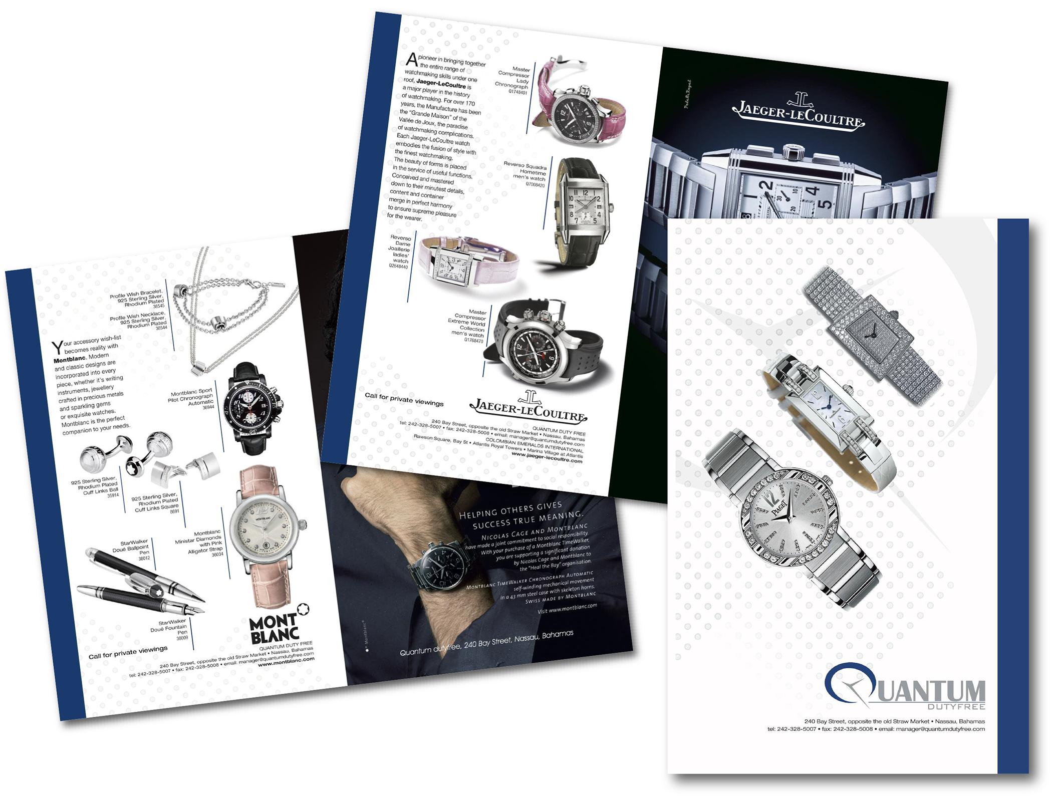 Quantum Duty Free brochure