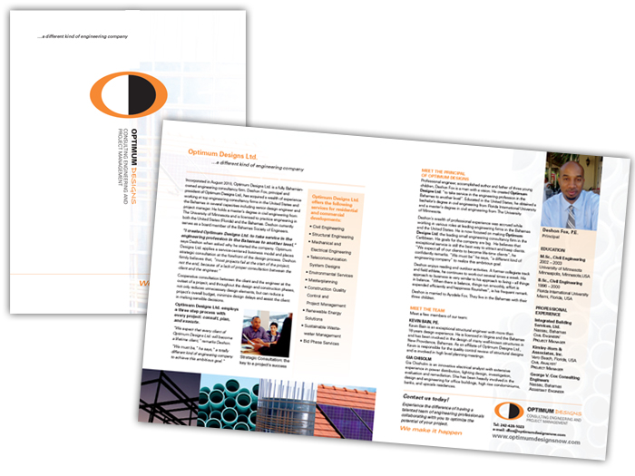 Optimum Designs Brochure