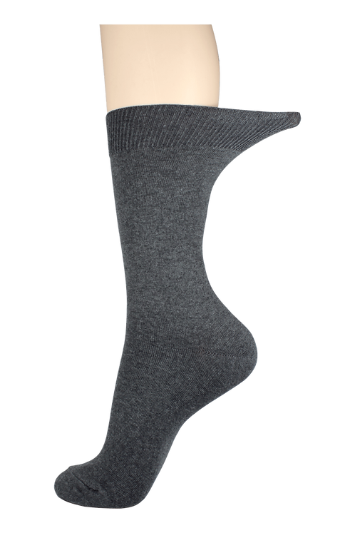 Men's Loose Top Socks Grey