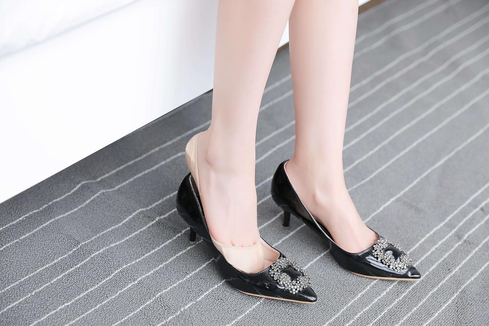 Women's Silicone No Show Socks