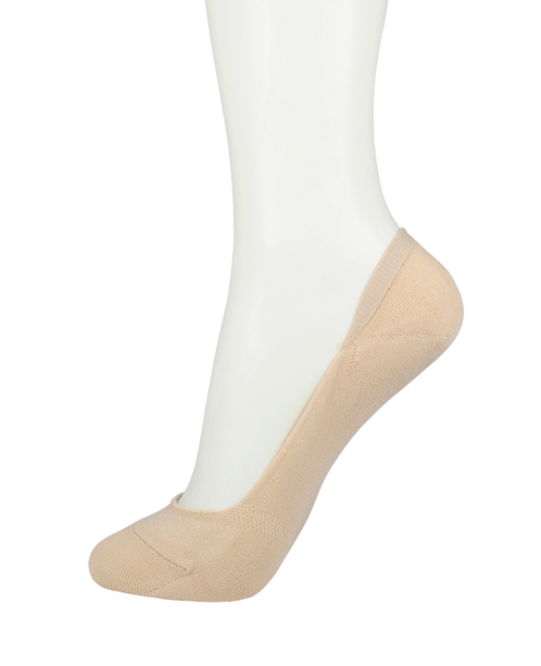 Men's Cotton No Show Socks Skin