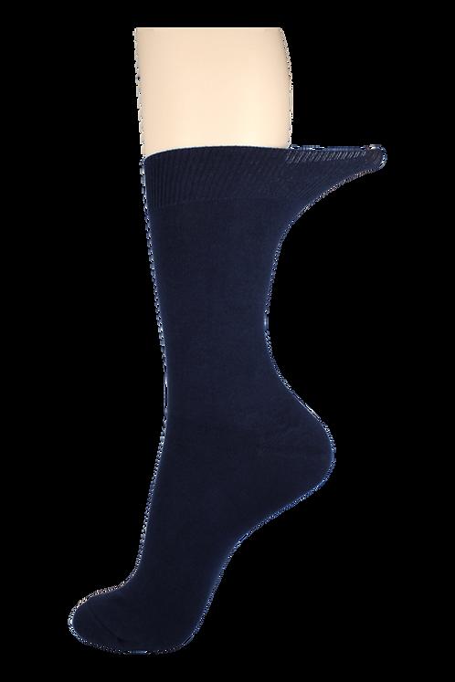 Women's Loose Top Socks Navy