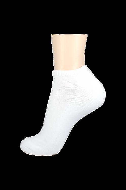 Women's Cushion Low Cut Socks White