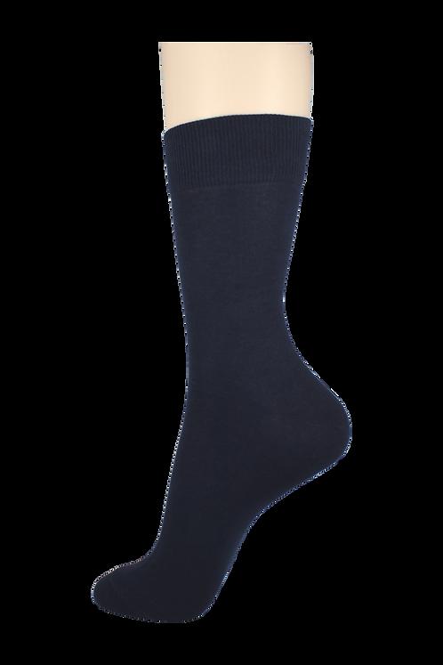Men's Thin Dress Socks Navy