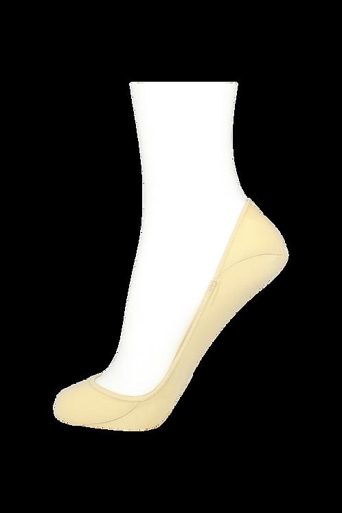 Women's Cotton No Show Socks Non Slip Skin