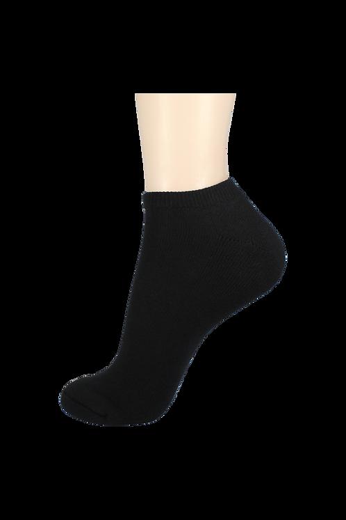Men's Cushion Low Cut Socks Black