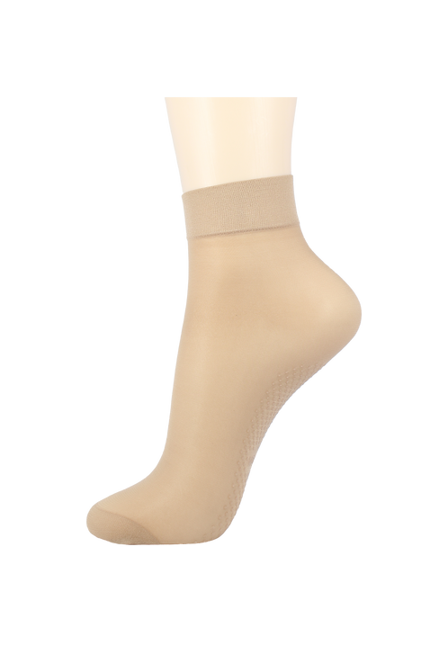 Nylon 20 Denier Ankle Non-Slip