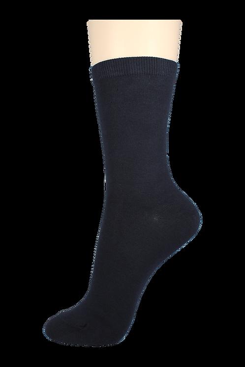 Women's Cotton Dress Socks Navy