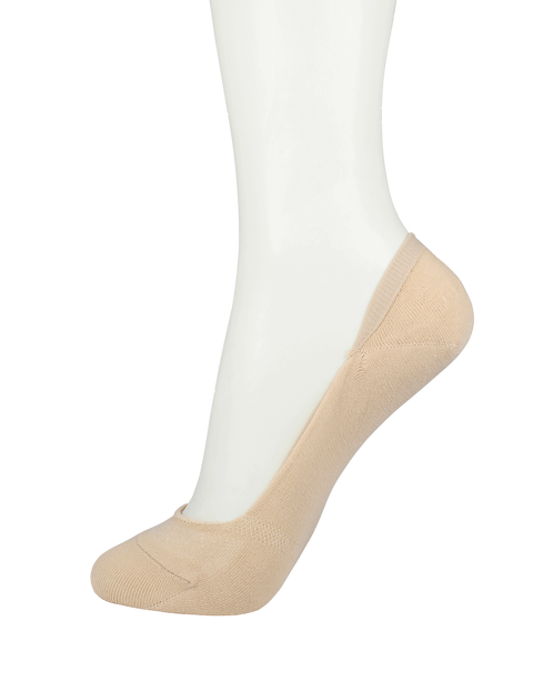 Women's Cotton No Show Socks Skin