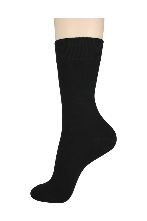 Men's Cotton Dress Socks Black