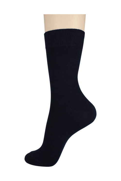 Men's Cotton Dress Socks Navy