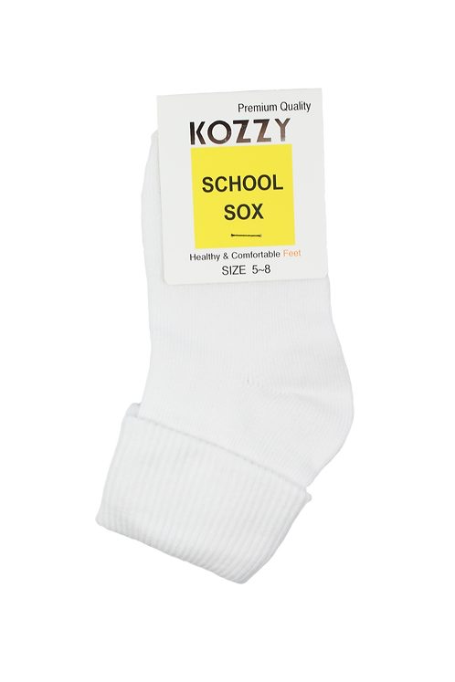 School Socks Fold