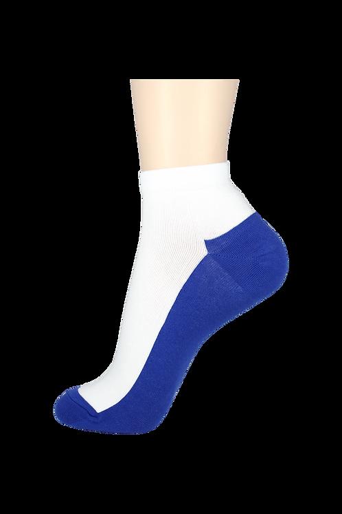 Men's Thin Ankle Socks 2-Tone Blue