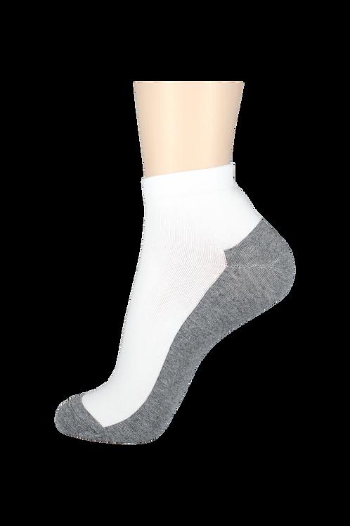 Men's Thin Ankle Socks 2-Tone Grey