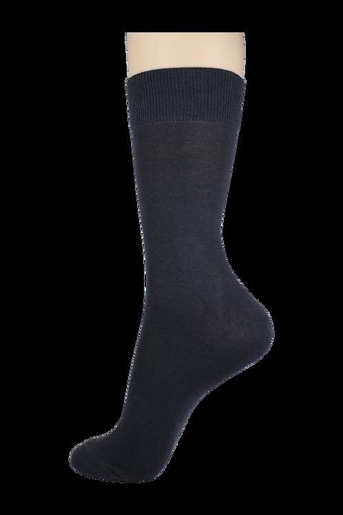 Men's Thin Dress Socks Grey