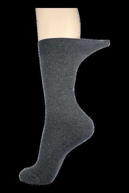 Women's Loose Top Socks Grey
